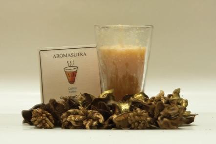 Chai Glas Kerze - Kaffee