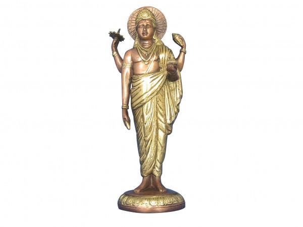 Dhanwantari Messingfigur ca. 32 cm