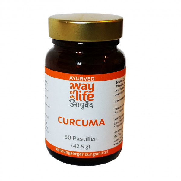 Curcuma-Pastille