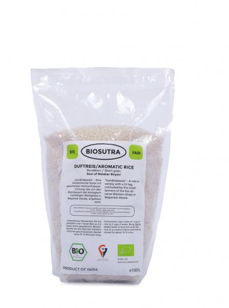 BIO Gandhakasala weißer Reis
