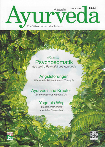 Zeitschrift Ayurveda - Ausgabe 2019-2