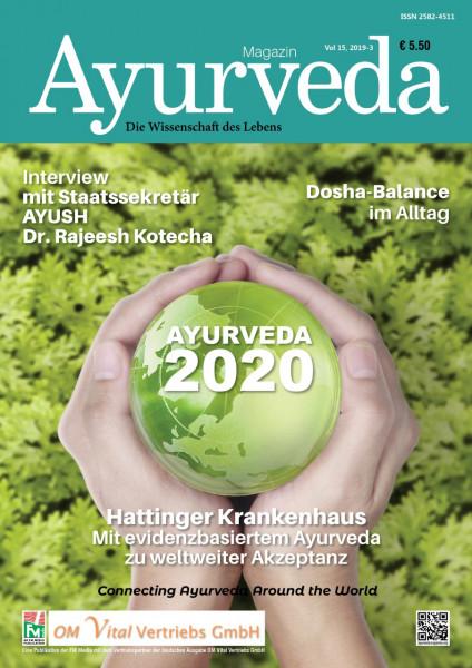 Zeitschrift Ayurveda - Ausgabe 2019-3